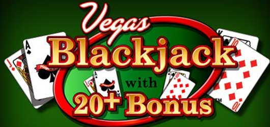 Vegas Blackjack With 20+ Bonus