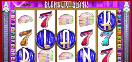 Blankety Blank Slot Machine