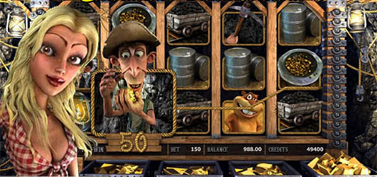 Gold Diggers Slot Machine