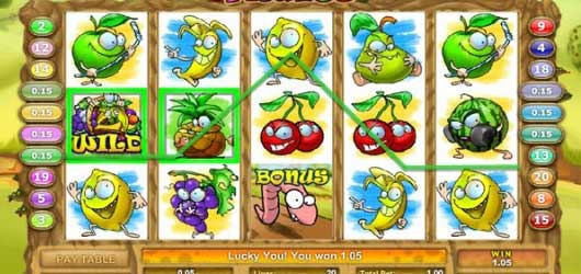 Freaky Fruits Slot Machine